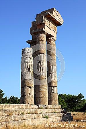 Acropolis on Rhodes