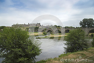 Across the river at Carcassonne