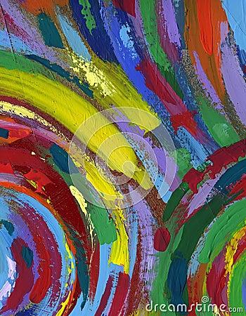 acryl het schilderen achtergrond royalty vrije stock
