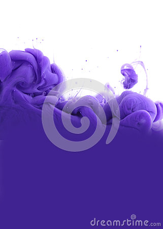 Free Acrylic Colors In Water. Abstract Background. Stock Photo - 85978700