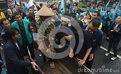 Action of culture Editorial Image