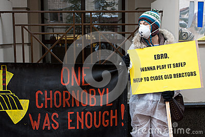 Action of environmental organization Greenpeace Editorial Image