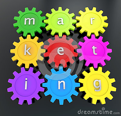 Action marketing concept