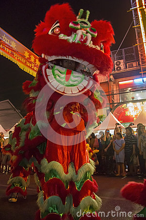 Chinese New Year Celebrations - Bangkok - Thailand Editorial Photo