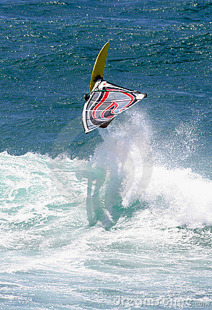 Free Action Sports Windsurfing Windsurfer Catching Air Royalty Free Stock Photos - 1139278