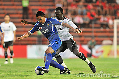 Action In Thai Premier League Editorial Photo