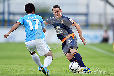 Action In Thai Premier League Editorial Stock Image