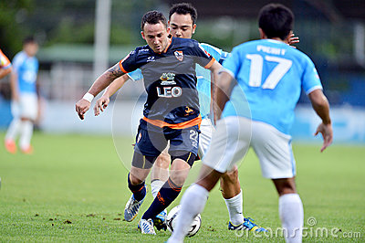Action In Thai Premier League Editorial Image
