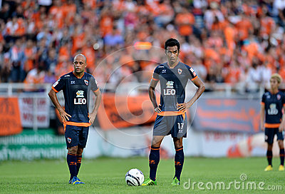 Action In Thai Premier League Editorial Stock Photo