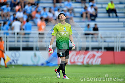 Action In Thai Premier League Editorial Photography