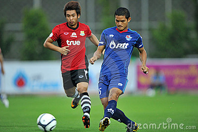 Action in Toyota league cup 2011 Editorial Stock Photo