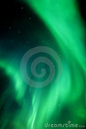 Active Aurora Royalty Free Stock Photography - Image: 493277