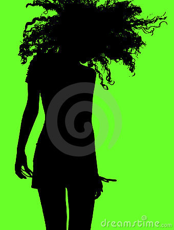 Free Active Girl Shaking Her Head Stock Photos - 5807503