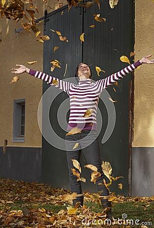 Active im Herbst