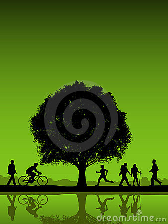 Free Active People Outdoors Royalty Free Stock Images - 6572349