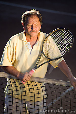 Active Senior Man Stock Image - Image: 8503201