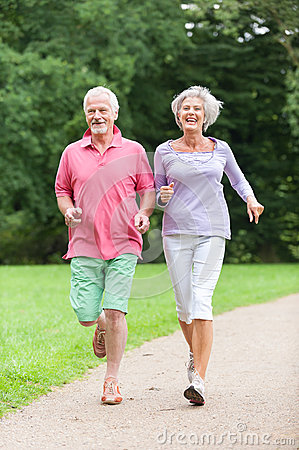 Free Active Seniors Stock Image - 26265511