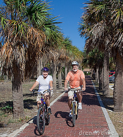 Active Seniors on Bikes