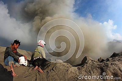 Active volcano Editorial Image