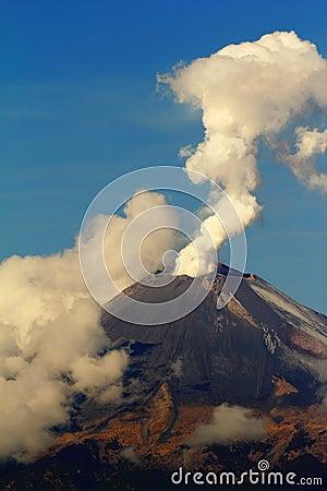 Free Active Volcano II Stock Image - 22869821
