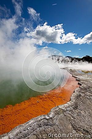 Actividad geotérmica