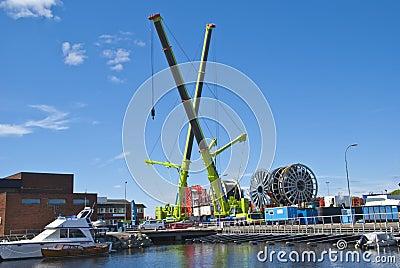 Activity on the quay