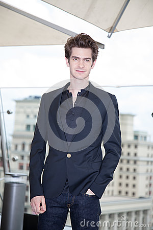 Actor Andrew Garfield Editorial Photography