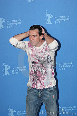 Actor Antonio Banderas Royalty Free Stock Image - Image: 12786786