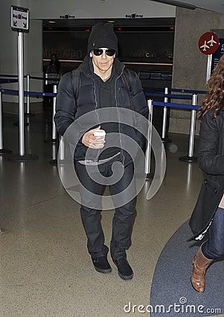 Actor Ben Stiller is seen at LAX airport, CA Editorial Stock Photo