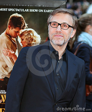 Actor Christoph Waltz Editorial Stock Image