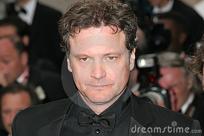 Actor Colin Firth Editorial Stock Photo