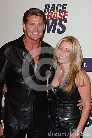 David Hasselhoff Editorial Photography