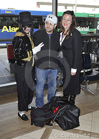 Actor Jerry Ferrara is seen at LAX airport Editorial Image