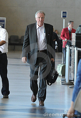 Actor John Voight is seen at LAX Editorial Photography
