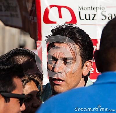 Actor Jorge Salinas Editorial Photography