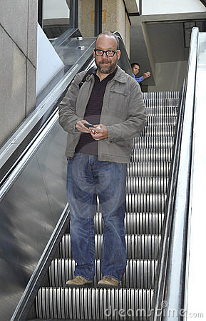 Actor Paul Giamatti at LAX airport Editorial Photography