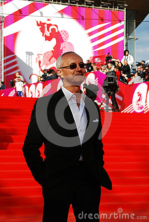 Actor and politician Eugeny Gerasimov at XXXVI Moscow International Film Festival Editorial Stock Photo