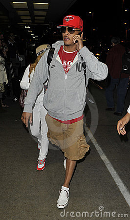Actor/rapper T.I. is seen at LAX Editorial Photography