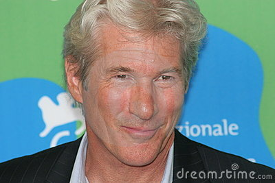 Actor Richard Gere Editorial Image