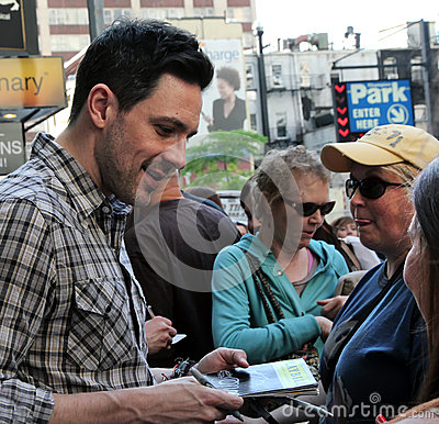 Actor Steve Kazee Editorial Photo