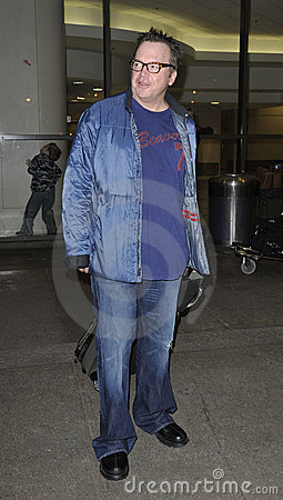 Actor Tom Arnold at LAX Editorial Photo
