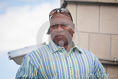 Actor  Ving Rhames. Editorial Photo