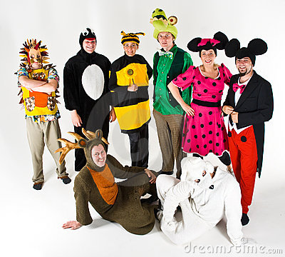 Actors in Costume