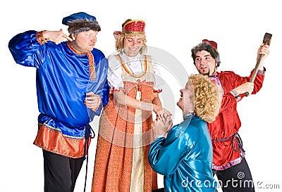Actors in Costumes