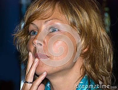Actress Alena Babenko Editorial Image