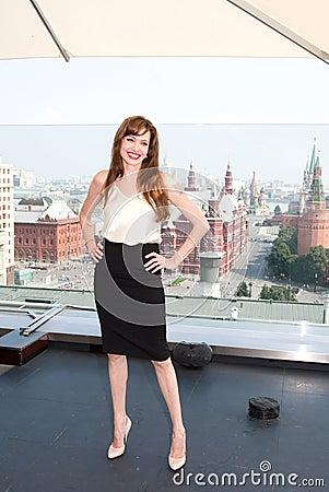 Actress Angelina Jolie Editorial Photography