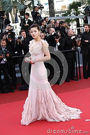 Actress Gianna Jun Editorial Stock Photo