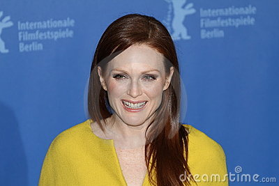 Actress Julianne Moore Editorial Photography