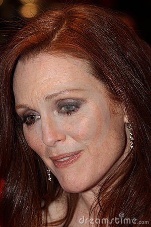 Actress Julianne Moore Editorial Stock Image