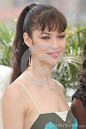 Actress Olga Kurylenko Editorial Stock Image